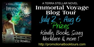 ImmortalVbanner Immortal Voyage Book Tour Guest Post: A Recipe For Disaster