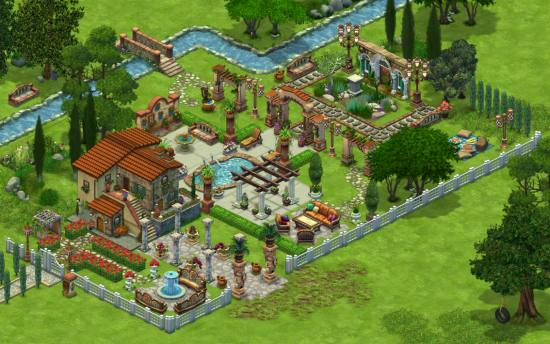 TuscanTheme1 Tail Towns Friends Changes the Face of Social Gaming  + Giveaway