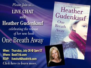 breath One Breath Away Book Tour: Guest Post + Giveaway
