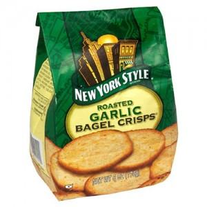 Be A Bagel Snack Star With New York Bagel Crisps