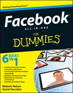 111817108X Book review: Facebook All-In-One For Dummies + Giveaway