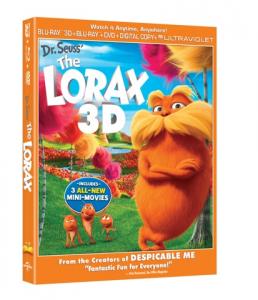 Dr. Seuss' The Lorax Activity Sheet + Trailer