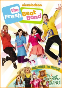 Fresh Beat Band: The Wizard of Song Now on DVD