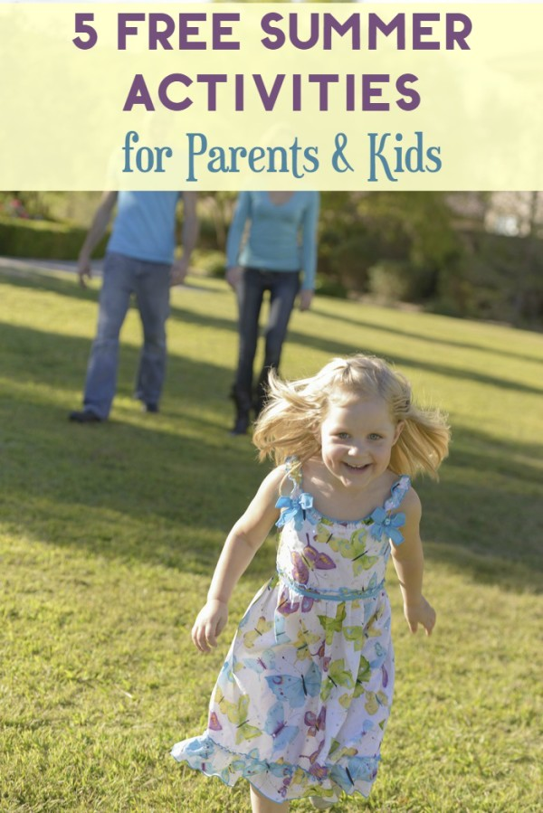 Summer activities for parents and kids don't have to break the bank! Check out these 5 free yet totally fun things to do as a family!