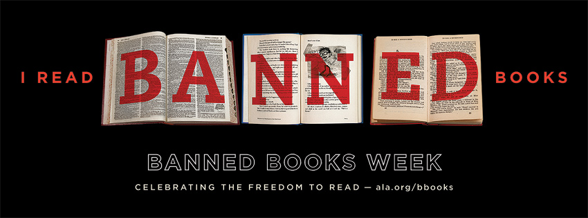 BBW Facebook Banner Banned Books Week: Defending Your Right to Read #bannedbooksweek
