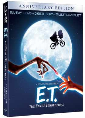 E.T. The Extra-Terrestrail is Coming to Blu-Ray for the First Time Ever!