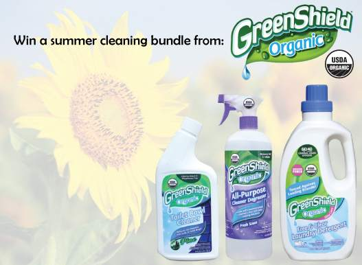 Summer Package Greenology GreenShield Organic Lavender Laundry Detergent Review + Giveaway