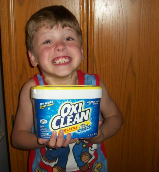 100 4032 Get Tough Stains Out with OxiClean Versatile Stain Remover