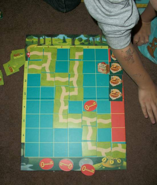 100 5249 Gifts for Kids: Race To The Treasure Cooperative Family Game