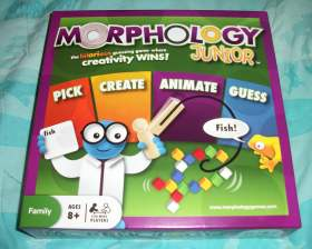 100 5261 Get those Creative Juices Flowing with Morphology Jr. Board Game