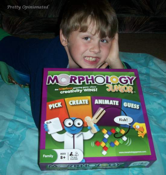 100 5262 Get those Creative Juices Flowing with Morphology Jr. Board Game