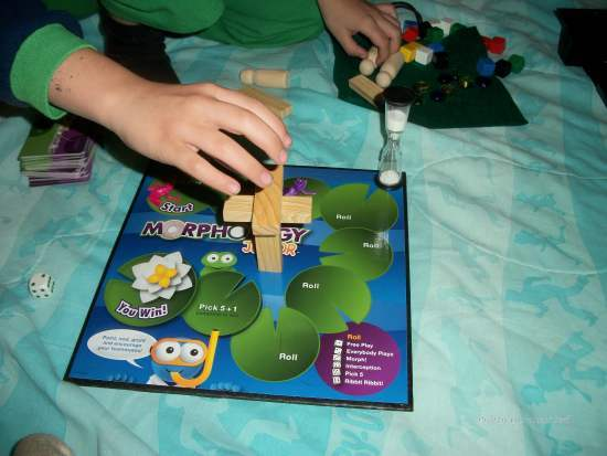 100 5266 Get those Creative Juices Flowing with Morphology Jr. Board Game