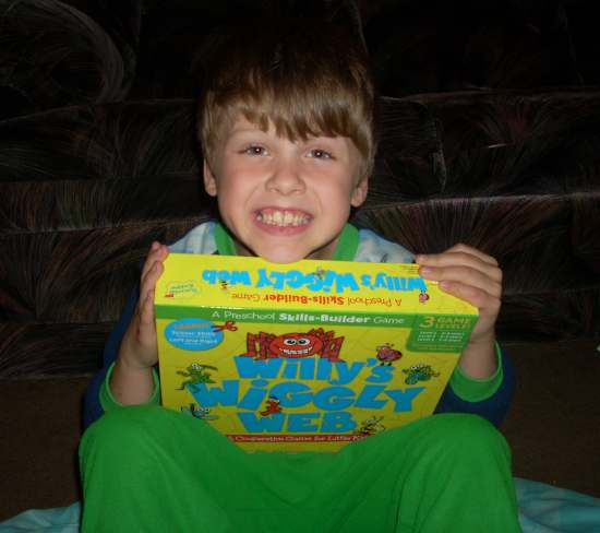 Peaceable Kingdom's Award Winning Willy's Wiggly Web Game Review
