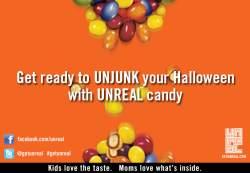 blogger Halloween invitation UnJunk Halloween with UNREAL Candy!  #GetUnreal