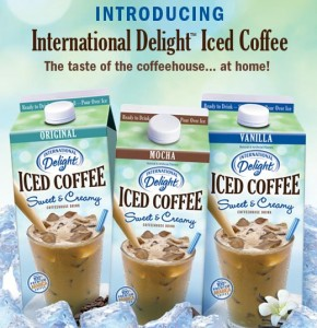 new international delight iced coffee flavors International Delight's Iced Coffee National Coffee Day Party