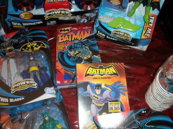 Partying with Batman: Power Attack Style
