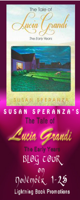 Lucia Grandi2 The Tale of Lucia Grandia Tour: Guest Post + $50 GC and Book Giveaway