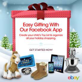 eBay Gift Homepage Screenshot Make Holiday Shopping Easier With the eBay Holiday Gift Guide
