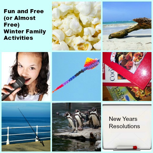 free winter family activities