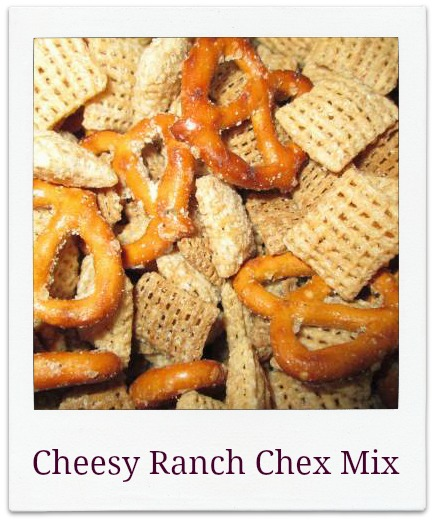 Cheesy Ranch Chex Mix for Family Movie Night