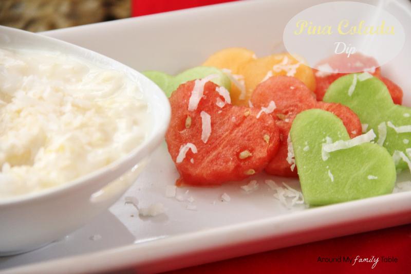 Pina Colada Fruti Dip
