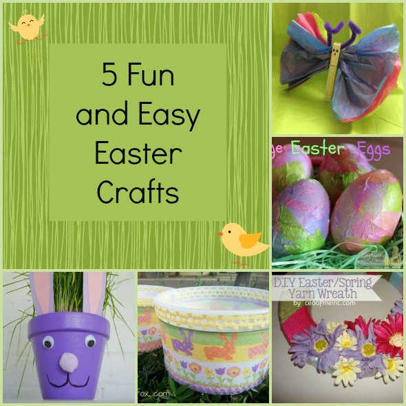 Five Easy Easter Crafts For The Whole Family Pretty Opinionated