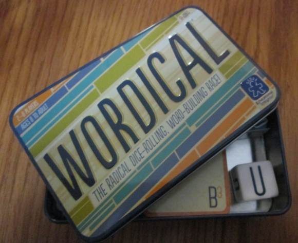 Wordical vocabulary-building game
