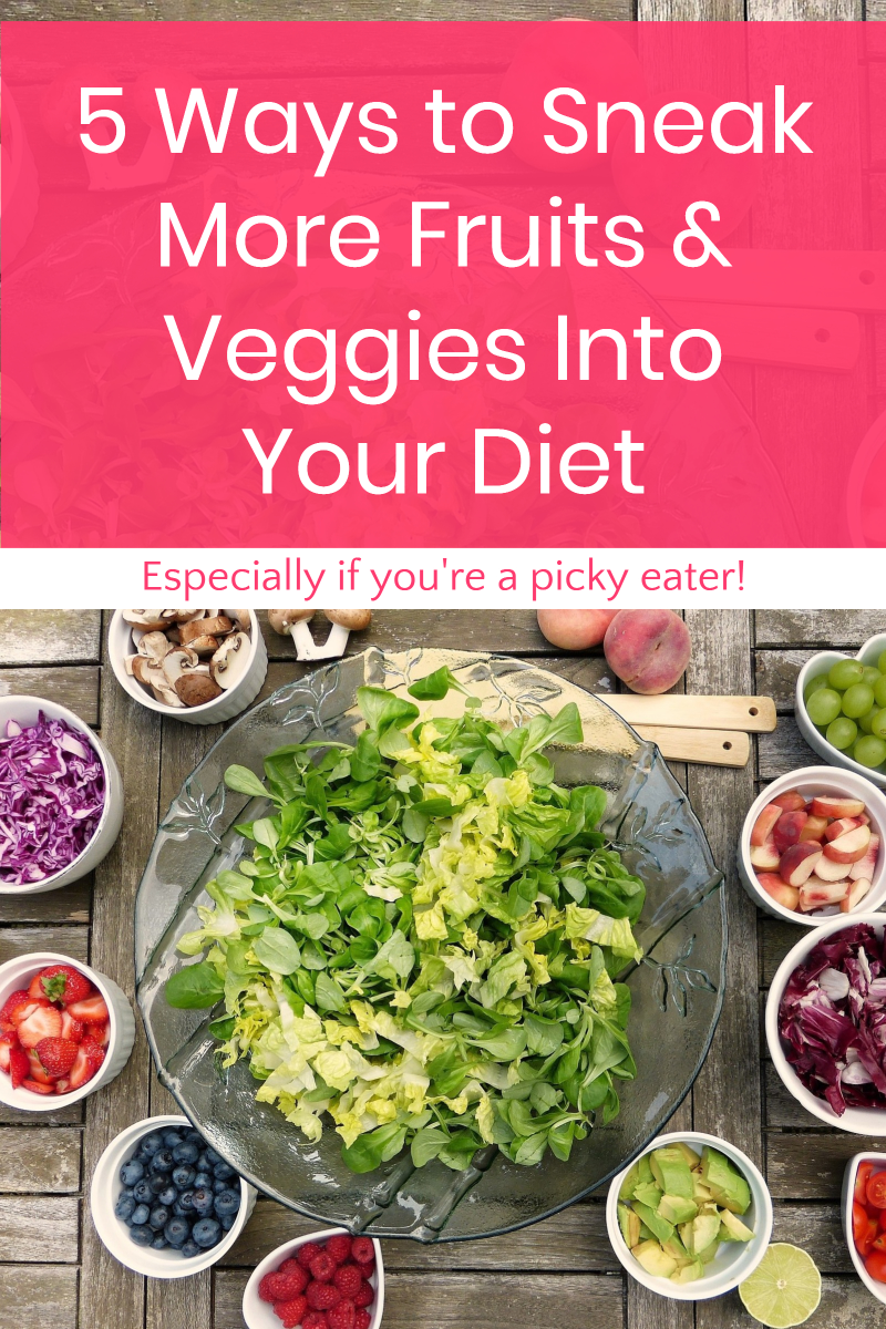 Having a hard time getting your daily requirement of fruits and veggies? Check out these 5 super simple tips that work even for the pickiest eaters!