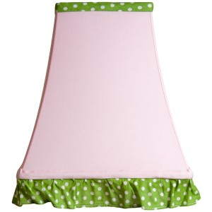 Easy Spring Decorating on a Tight Budget using lampshades