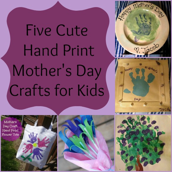 Cute Diy Hand Print Mother S Day Crafts Pretty Opinionated