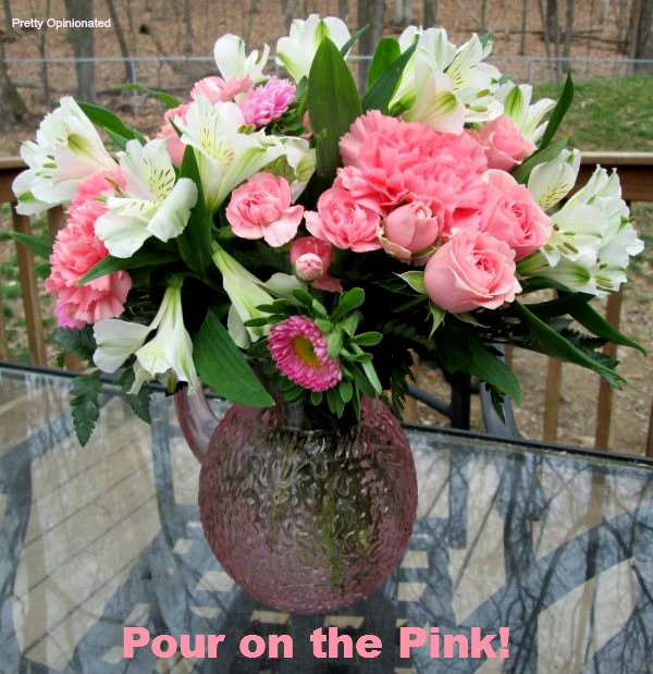 Pour on the Pink: How to Give Beautiful Flowers for Mother's Day