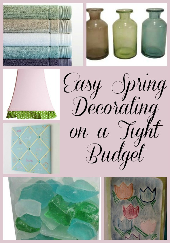 Easy Spring Decorating on a Tight Budget
