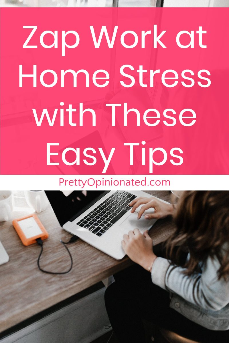 Work at home stress making you wish you could go back to the office? Check out three reasons why it's so stressful, plus 6 tips to banish WAHM stress for good!