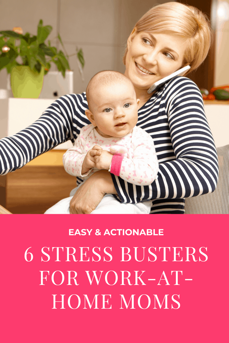 tips manage work at home stress 09 6 Simple Tips to Minimize Work-At-Home Stress