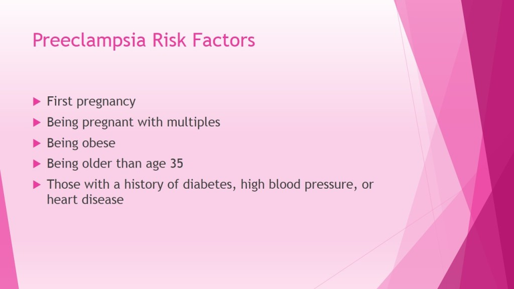 Preeclampsia Risk Factors