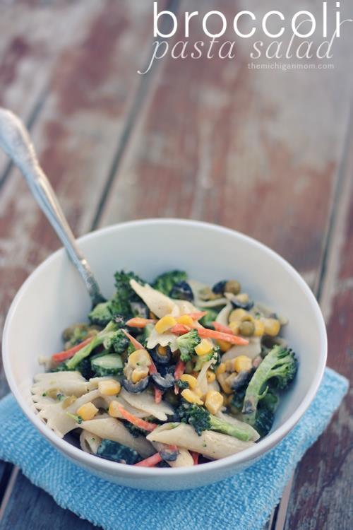 brocolli pasta salad
