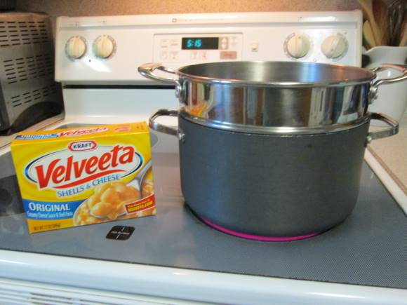 Cooking with Velveeta Shells and Cheese
