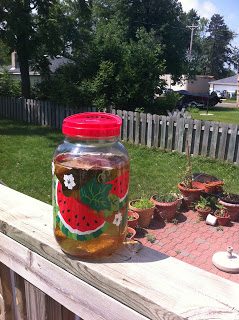 Lemon Green Sun Tea