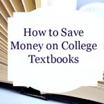 Save on Textbooks and Help Children In Need!