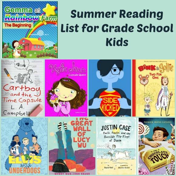 Summer Reading List for Grade School