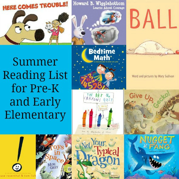 Summer Reading List for Preschool and Early Elementary