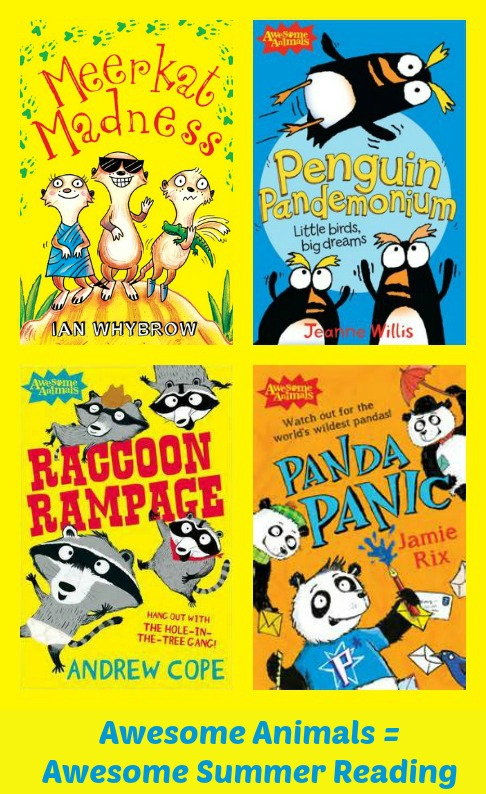 Awesome Animals Series is Awesome Summer Reading Fun!
