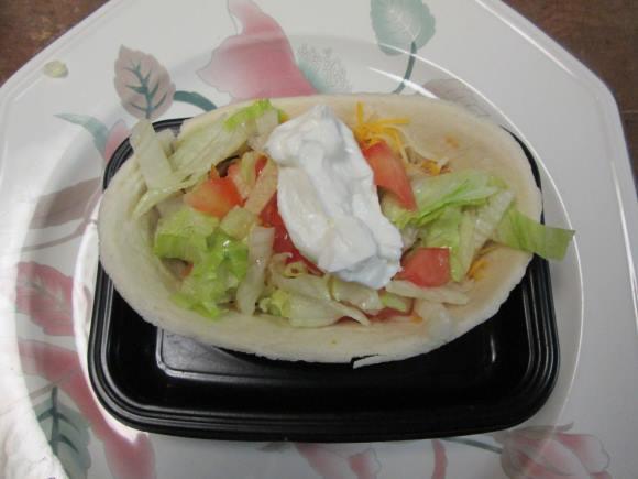 Old El Paso Chicken Tacos Veggies