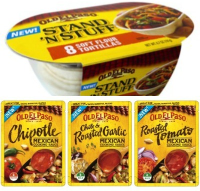Old El Paso Sauces and Shells