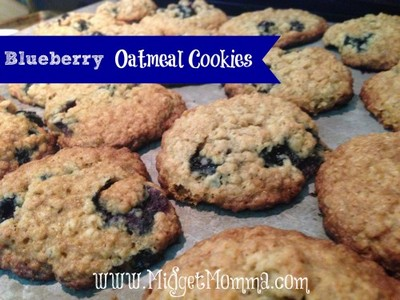 Love oatmeal cookies? Then you'll flip for these Blueberry Oatmeal ...