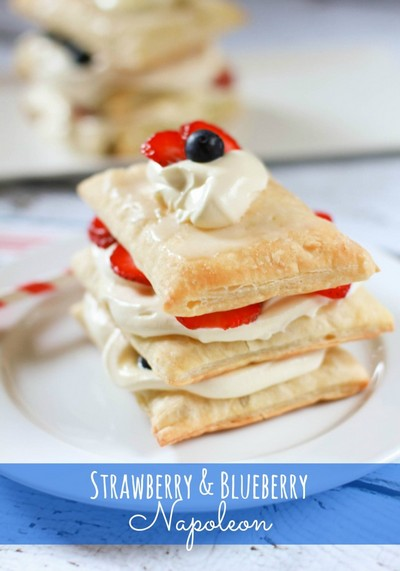 strawberry-and-blueberry-napoleon
