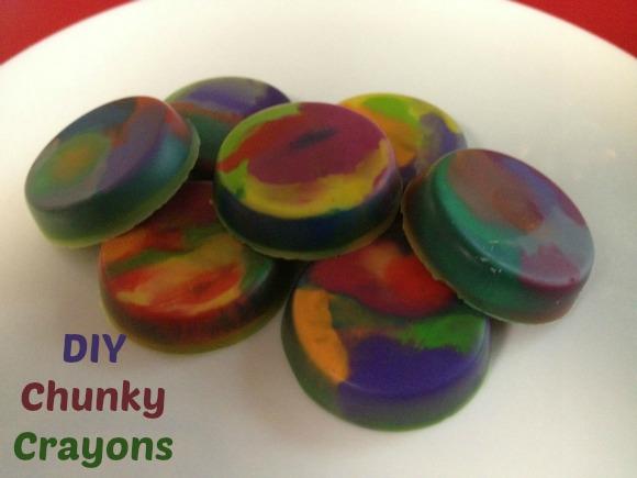 Chunky Crayons Repurposing Craft