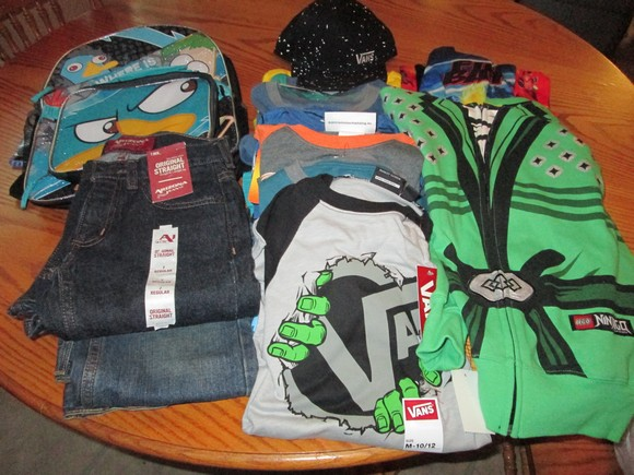 Our JCPenney haul