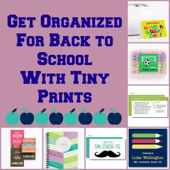 Tiny Prints Back to School Giveaway
