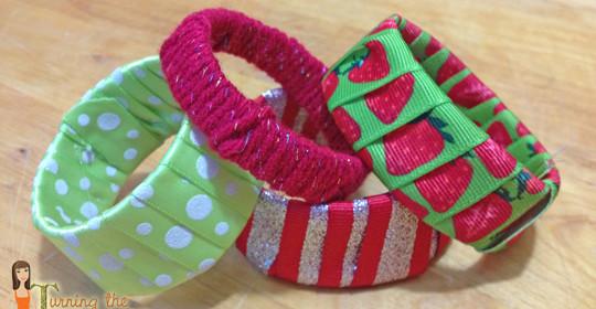 Yogurt Cup Bracelets